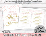 Advice Bridal Shower Advice Pink And Gold Bridal Shower Advice Bridal Shower Pink And Gold Advice Pink Gold - XZCNH - Digital Product