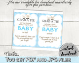 Grab A Tie Baby Shower Grab A Tie Blue Lamb Baby Shower Grab A Tie Blue Baby Shower Blue Lamb Grab A Tie party theme party ideas fa001