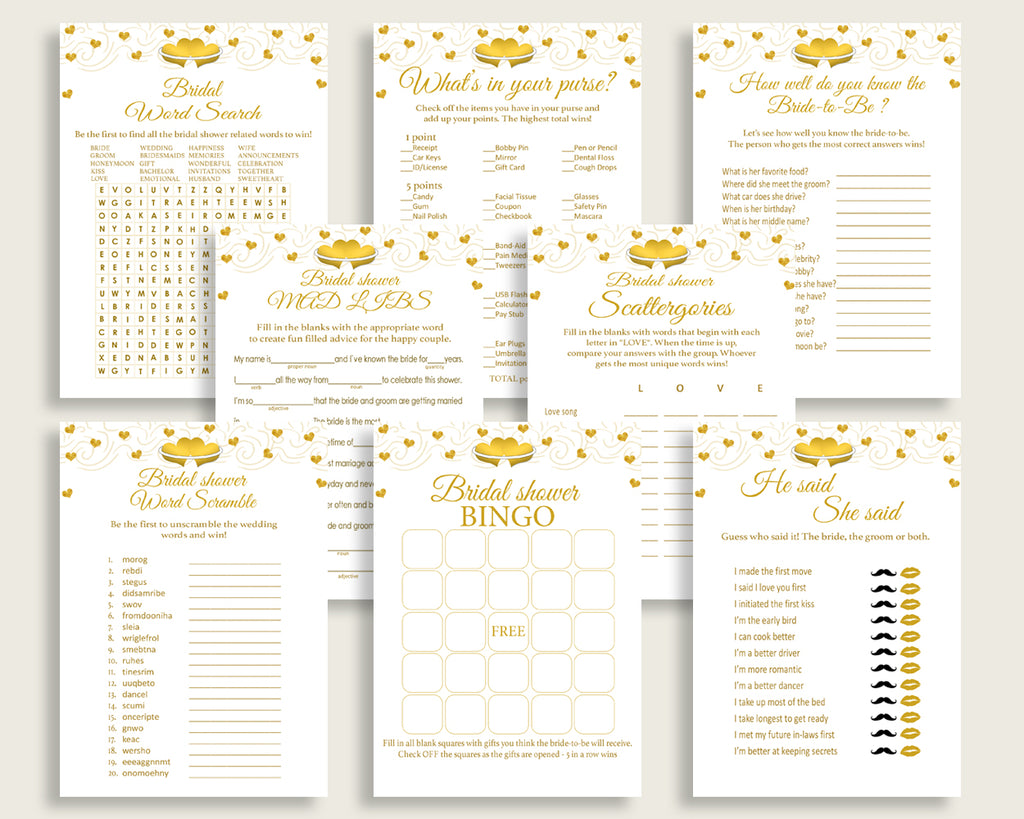 games bridal shower games gold hearts bridal shower games bridal shower gold hearts games white gold