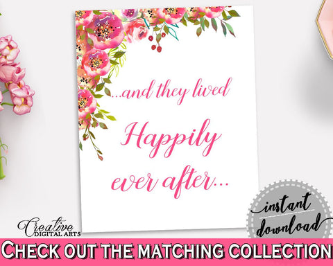 fbd78644d00 Happily Ever After Bridal Shower Happily Ever After Spring Flowers Bridal  Shower Happily Ever After Bridal ...