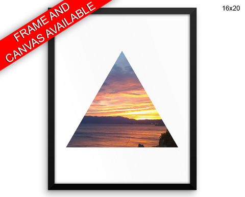 Sunset Print, Beautiful Wall Art with Frame and Canvas options available Photography Decor