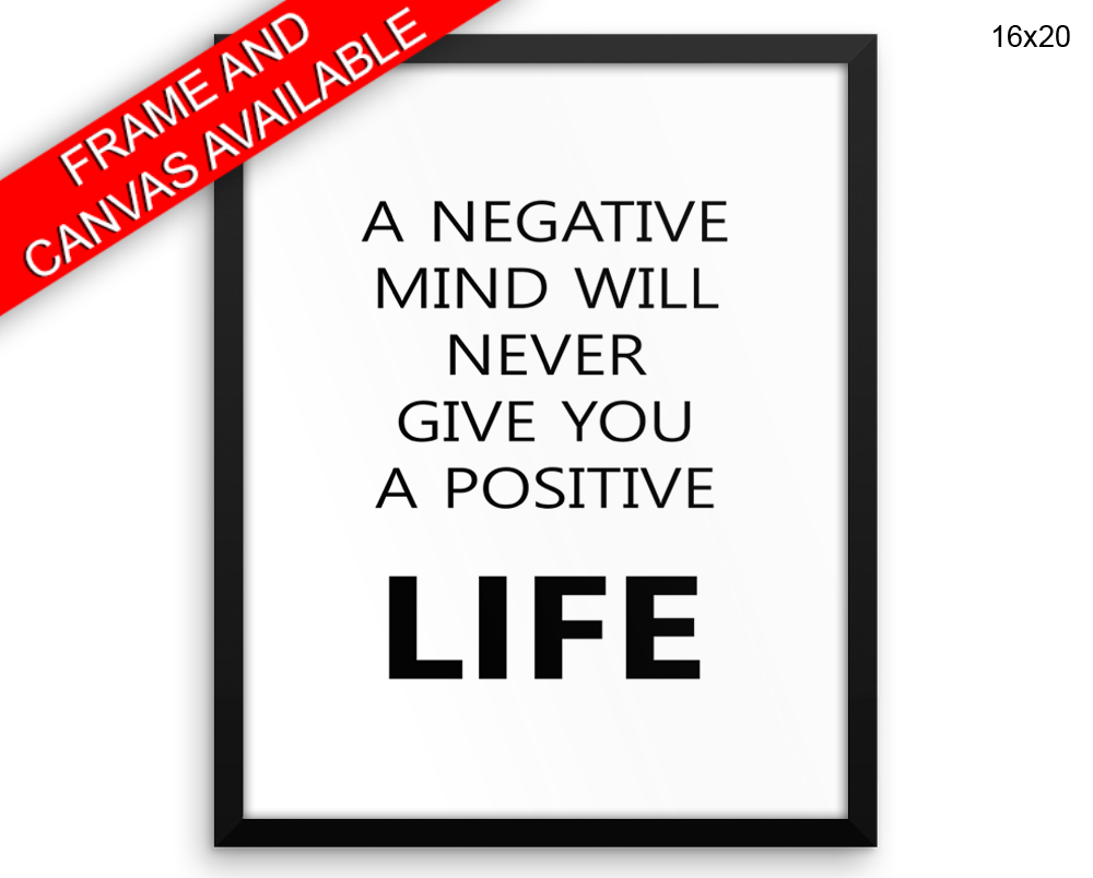 Optimism Print, Beautiful Wall Art with Frame and Canvas options available Inspirational Decor