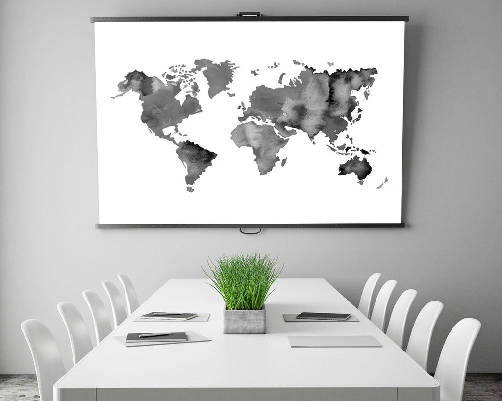 World map prints wall art world map digital download world map instant download world map frame and canvas available black white digital download world map prints wall art world map digital download world map instant download world map frame gumiabroncs Choice Image