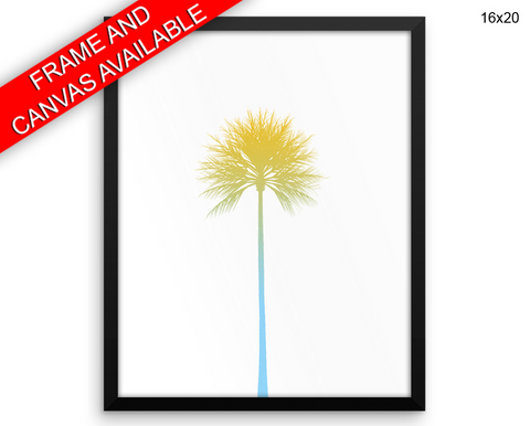 Summertime Print, Beautiful Wall Art with Frame and Canvas options available Fresh Decor