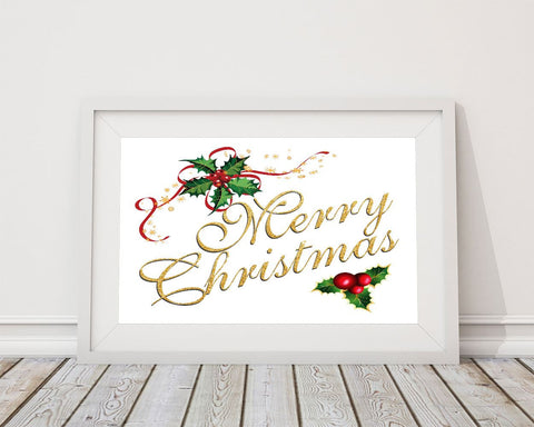 Wall Decor Merry Christmas Printable Merry Christmas Prints Merry Christmas Sign Merry Christmas Christmas Art Merry Christmas Christmas - Digital Download