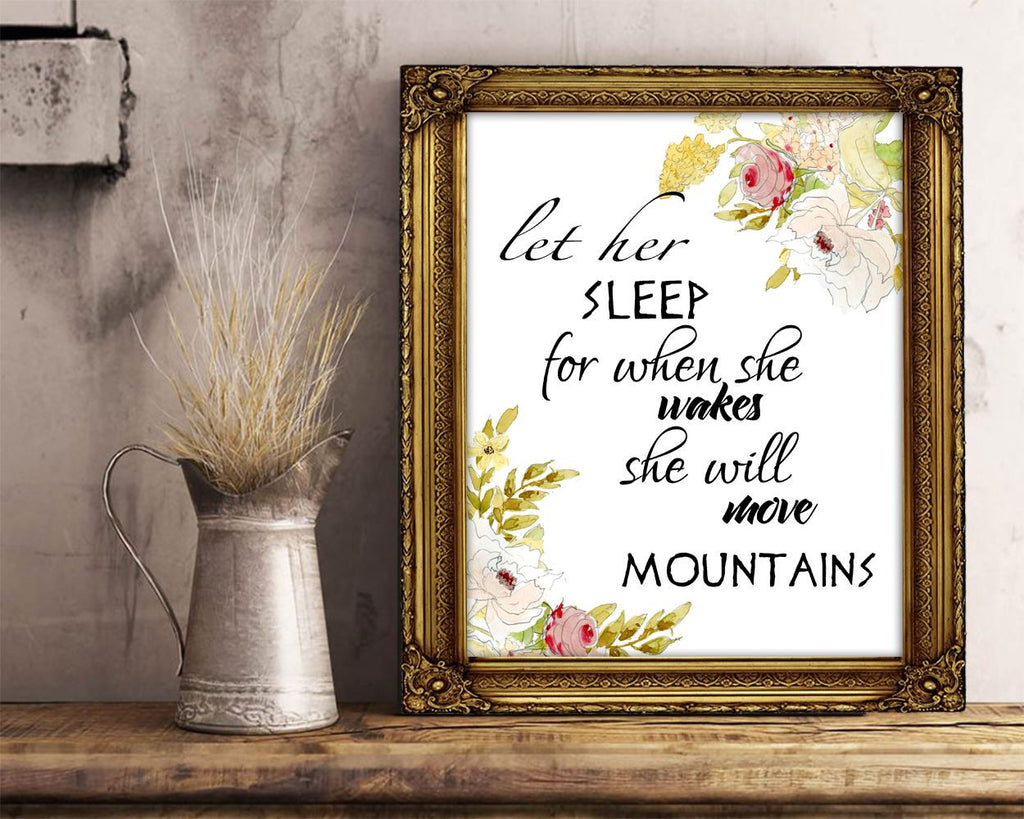 Wall Art Napoleon Digital Print Sleep Poster Art Napoleon Wall Art Print Sleep Quote Art Sleep Quote Print Napoleon Wall Decor Napoleon - Digital Download