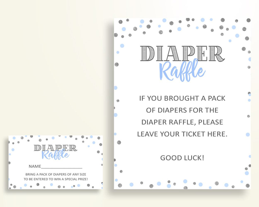 Diaper Raffle Baby Shower Diaper Raffle Blue And Silver Baby Shower Diaper Raffle Blue Silver Baby Shower Blue And Silver Diaper OV5UG - Digital Product