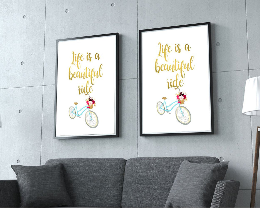 Wall Decor Life Printable Life Prints Life Sign Life Wisdom Art Life Wisdom Print Life Printable Art Life life adventure life and bike - Digital Download
