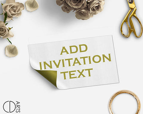 Add On listing you'll want to purchase only if you want us to edit the invitation text for you - digital file