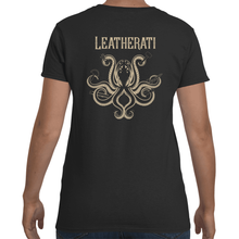 Load image into Gallery viewer, This is Not a Cult Leatherworker T Shirt- Womens