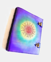 Load image into Gallery viewer, Large Rainbow Mandala Journal