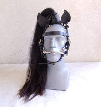 Load image into Gallery viewer, Pony Play Mane and Headstall- Real Horsehair