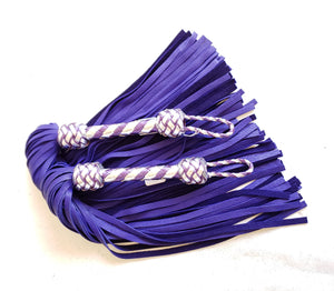 Purple and Silver Flogger