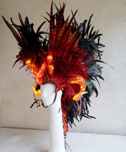 Hell's Concubine Bone Headdress