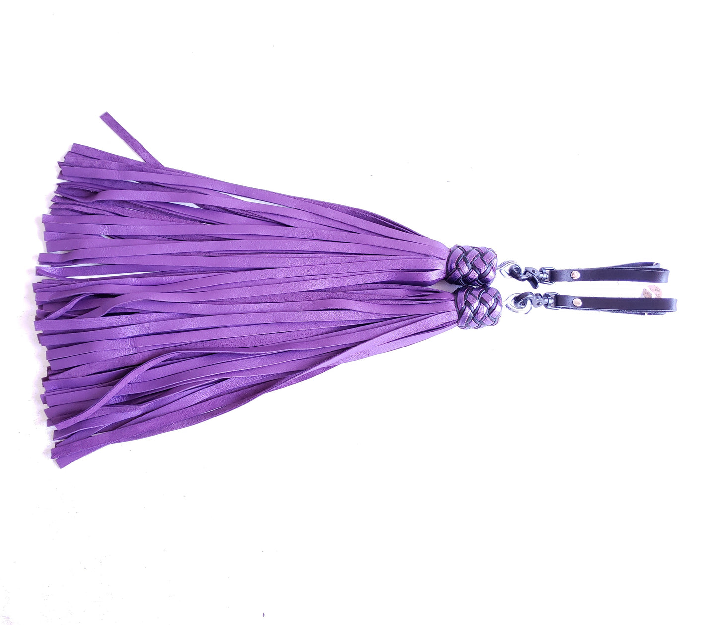 Purple Finger Floggers - PAIR