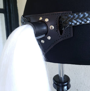 Pony Tail Belt Attachment - Synthetic Hair
