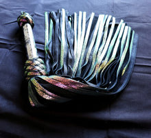 Load image into Gallery viewer, Chameleon Flogger - Labradorite Handle