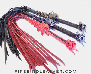 Devil's Whisper Lashing Flogger - Made to Order