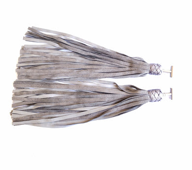 Pair of Silver Finger Floggers