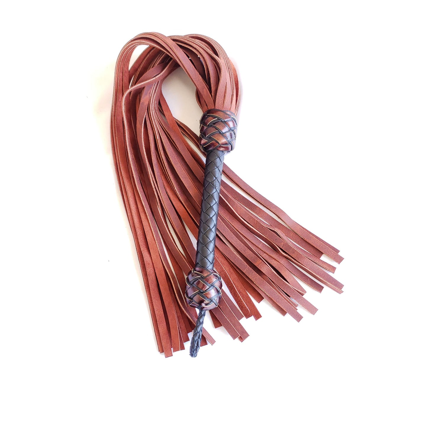 Oil Tan Heavy Leather Flogger