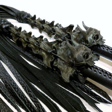 Load image into Gallery viewer, Devil's Whisper Lashing Flogger - Made to Order