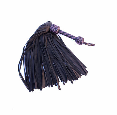 Black and Purple Mop Flogger