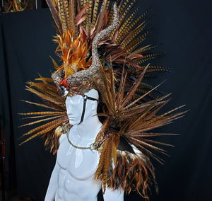 Hunter Headdress- Icarus Collection