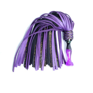 Dark Candy Triskelle Flogger with Veg Tan Tails