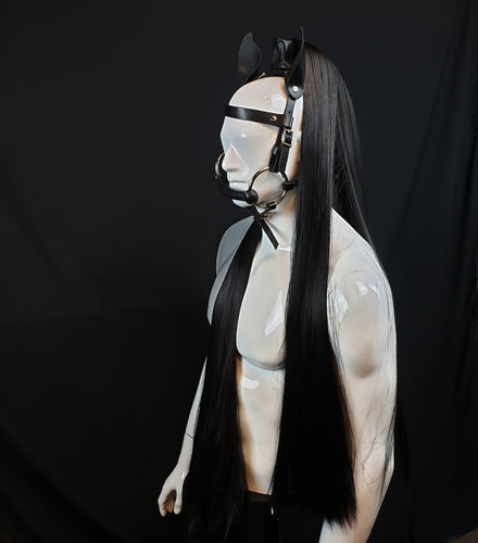 Pony Play Mane and Headstall - Synthetic Hair