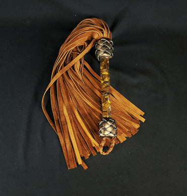 Tiger's Eye Flogger