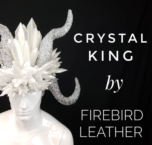 The Crystal King Headdress