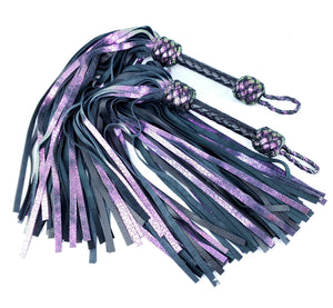 Chameleon Leather Floggers