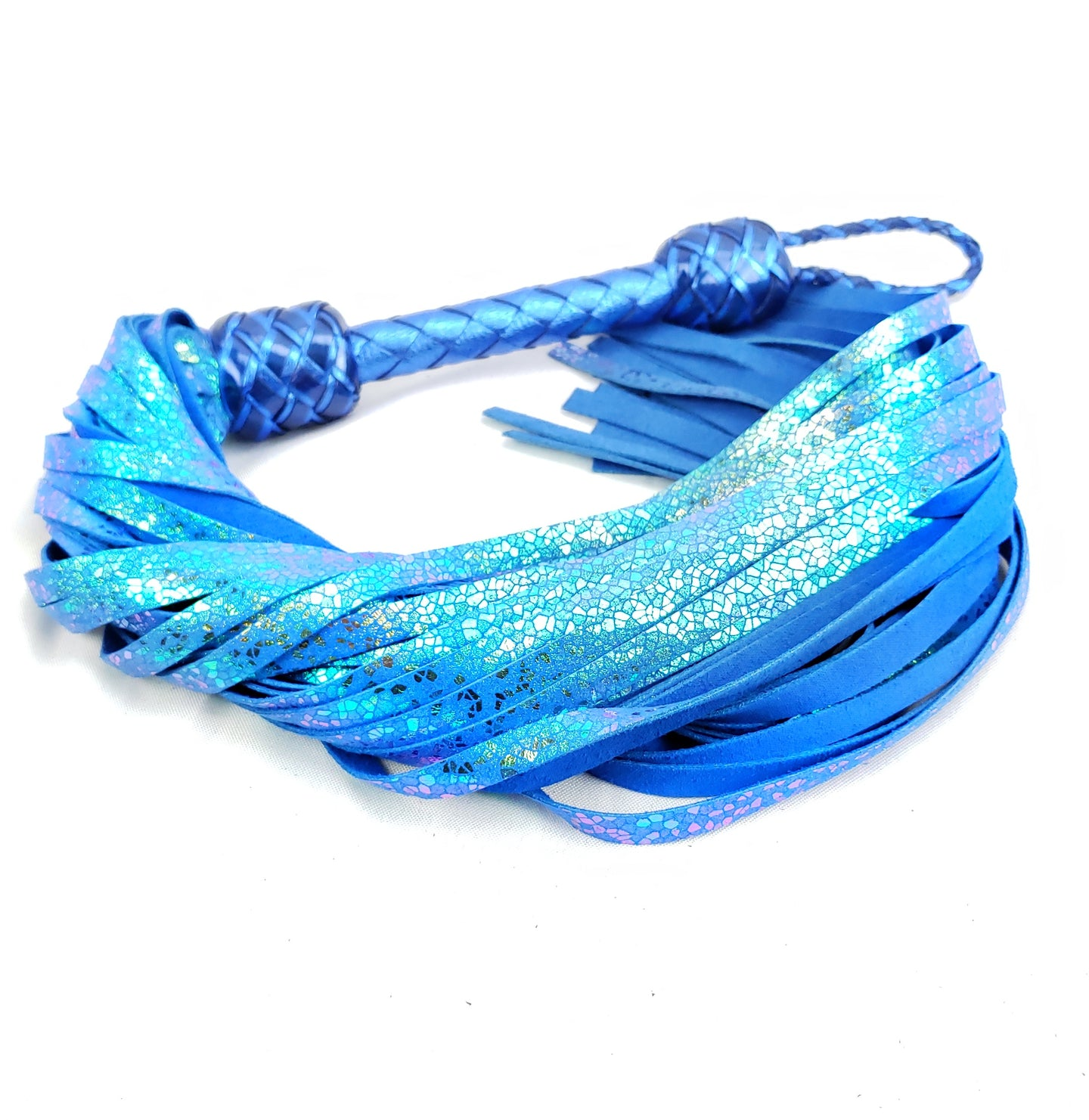 Stained Glass Floggers in Blue