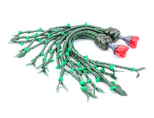 Load image into Gallery viewer, Rose Thorn Cat O Nine- Made to Order