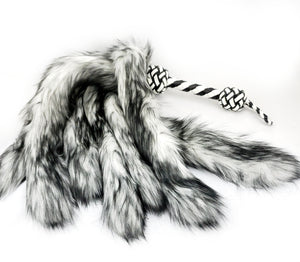 Fluffinator- Black and White, In stock