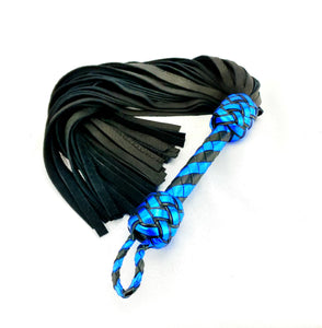 Royal Blue Elk Flogger