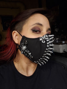 Necro Fabric Face Mask