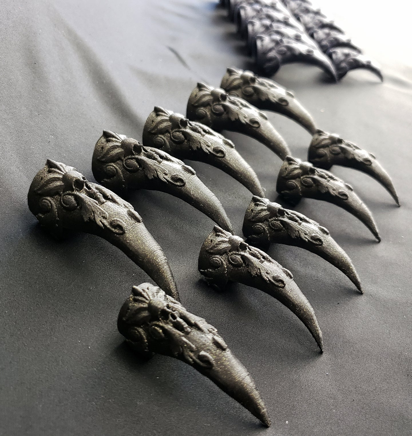 Claw Ring Talons For Sensation Play or Cosplay