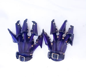 Leather Claw Gloves for Costume