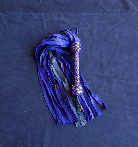 Black and Purple Deer Flogger