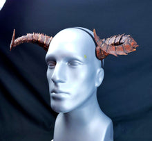 Load image into Gallery viewer, Demon, Dragon, Tiefling horns- Painted and ready to wear
