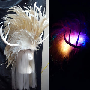 White Stag Headdress