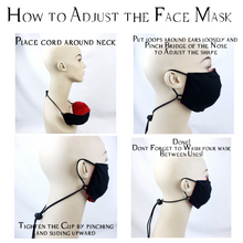 Load image into Gallery viewer, Moon Child Soft Cotton Face Mask