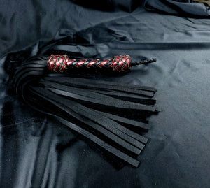 Moose Floggers with Red Bronze and black handle - In stock