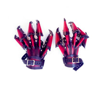 Load image into Gallery viewer, Costume Leather Claw Gloves