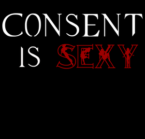 Consent is Sexy V Neck Shirt - Kinky Shirts