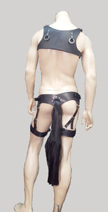 Pony Play Tail Harness