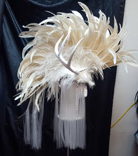 Load image into Gallery viewer, White Stag Headdress