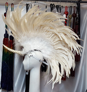 Unicorn Feather Headdress - Made to Order