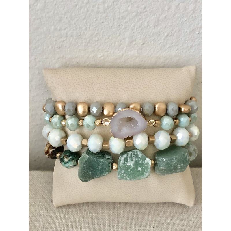Mint Green Stack
